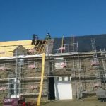 Couverture berric, couvreur berric, rénovation toiture en ardoises Berric